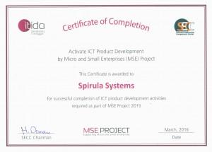 ITIDA  Certificate