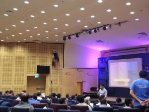 speaking at Bibliotheca Alexandrina
