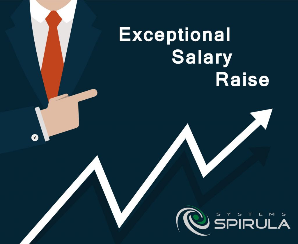 spirula increases salaries to mitigate the effect of floating the exceptional salary raise